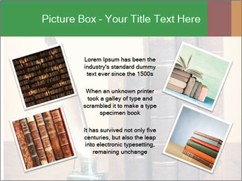 Books And Ink PowerPoint Template - Slide 24