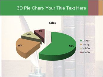 Books And Ink PowerPoint Template - Slide 35