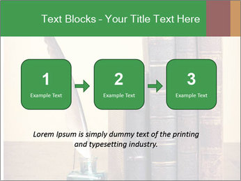 Books And Ink PowerPoint Template - Slide 71
