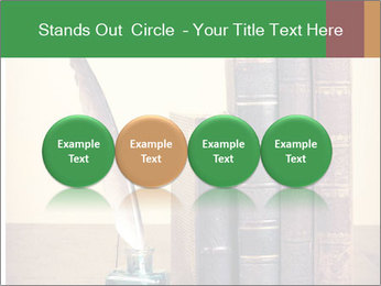Books And Ink PowerPoint Template - Slide 76