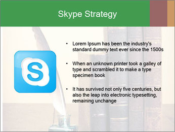 Books And Ink PowerPoint Template - Slide 8
