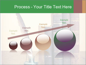 Books And Ink PowerPoint Template - Slide 87
