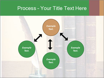 Books And Ink PowerPoint Template - Slide 91