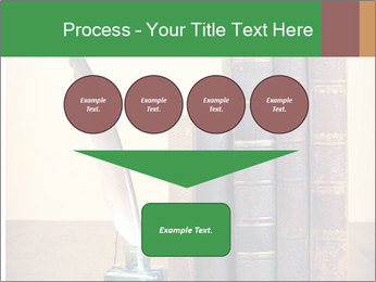 Books And Ink PowerPoint Template - Slide 93