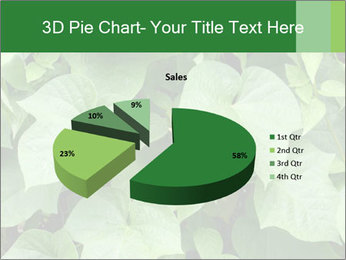 Green Foliage In Garden PowerPoint Template - Slide 35