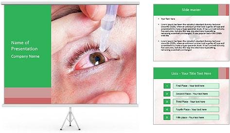 Eye Drops PowerPoint Template