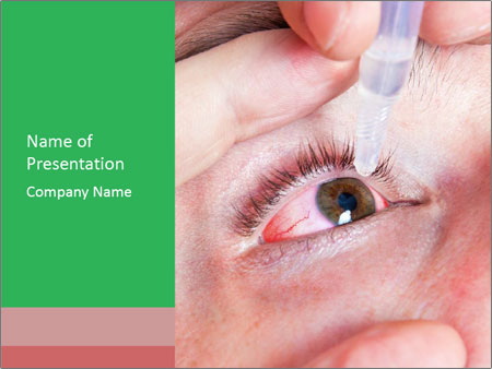 Eye Drops PowerPoint Templates