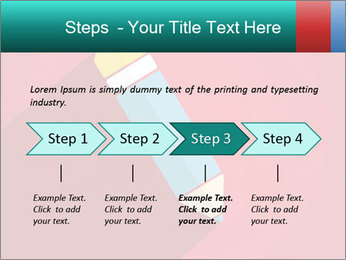 Vector Pencil PowerPoint Templates - Slide 4