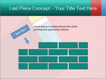 Vector Pencil PowerPoint Template - Slide 46
