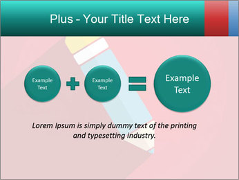 Vector Pencil PowerPoint Template - Slide 75