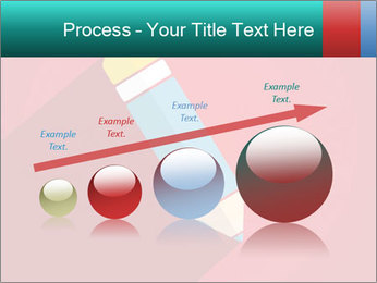 Vector Pencil PowerPoint Template - Slide 87