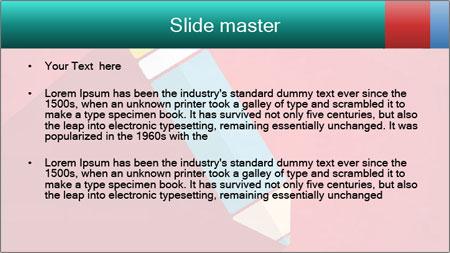 Vector Pencil PowerPoint Template - Slide 2
