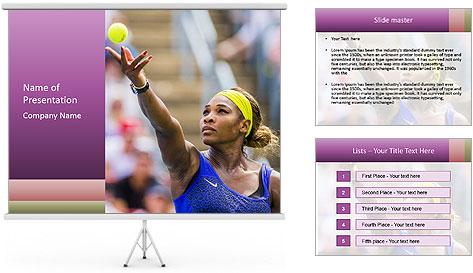 Tennis Championship PowerPoint Template