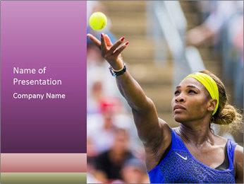 Tennis Championship PowerPoint Template - Slide 1