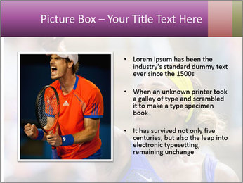 Tennis Championship PowerPoint Templates - Slide 13