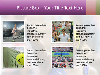 Tennis Championship PowerPoint Templates - Slide 14