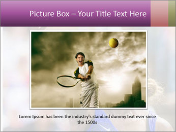 Tennis Championship PowerPoint Templates - Slide 16
