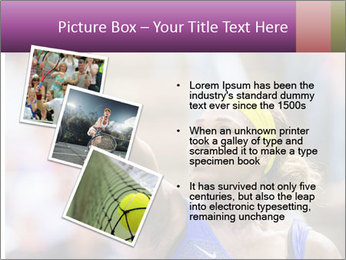 Tennis Championship PowerPoint Templates - Slide 17