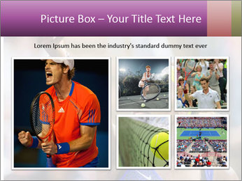 Tennis Championship PowerPoint Templates - Slide 19