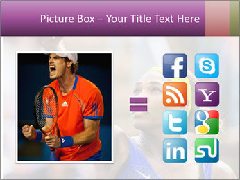 Tennis Championship PowerPoint Templates - Slide 21