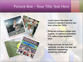 Tennis Championship PowerPoint Templates - Slide 23