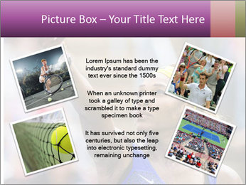 Tennis Championship PowerPoint Templates - Slide 24