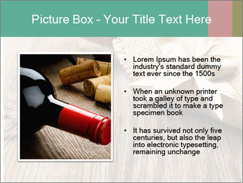 Wine Bottle Gift PowerPoint Templates - Slide 13