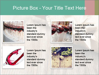 Wine Bottle Gift PowerPoint Templates - Slide 14