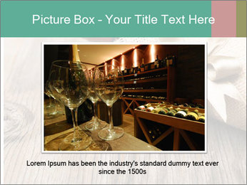 Wine Bottle Gift PowerPoint Templates - Slide 16