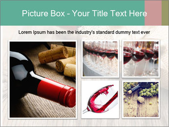 Wine Bottle Gift PowerPoint Templates - Slide 19