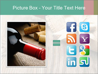 Wine Bottle Gift PowerPoint Templates - Slide 21