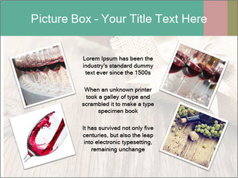 Wine Bottle Gift PowerPoint Templates - Slide 24