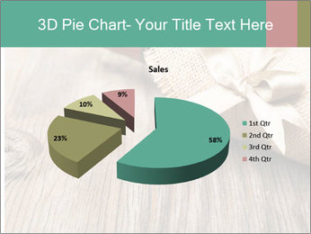 Wine Bottle Gift PowerPoint Templates - Slide 35