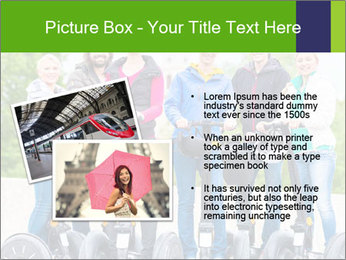Friends Driving Segway PowerPoint Template - Slide 20
