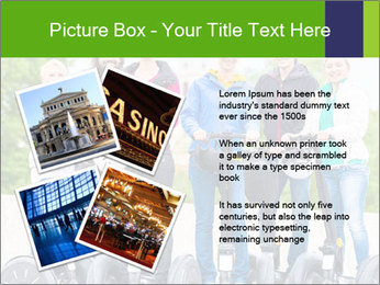 Friends Driving Segway PowerPoint Template - Slide 23