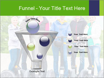 Friends Driving Segway PowerPoint Template - Slide 63