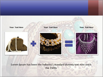 Vintage Bracelet PowerPoint Templates - Slide 22