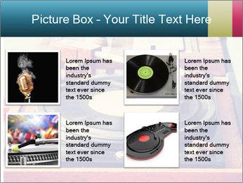 Vintage Vinyl Player PowerPoint Template - Slide 14