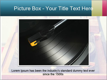 Vintage Vinyl Player PowerPoint Template - Slide 16