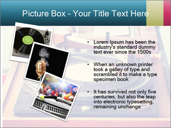 Vintage Vinyl Player PowerPoint Template - Slide 17