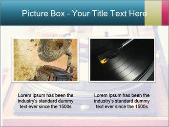 Vintage Vinyl Player PowerPoint Template - Slide 18