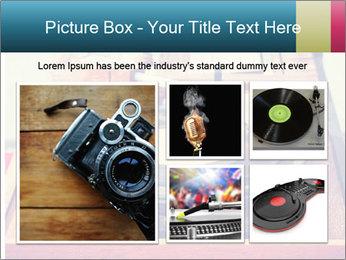Vintage Vinyl Player PowerPoint Template - Slide 19