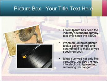 Vintage Vinyl Player PowerPoint Template - Slide 20