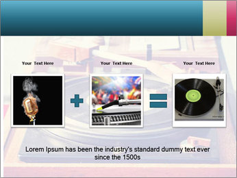 Vintage Vinyl Player PowerPoint Template - Slide 22