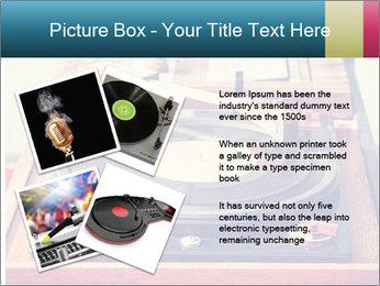 Vintage Vinyl Player PowerPoint Template - Slide 23