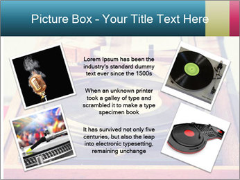 Vintage Vinyl Player PowerPoint Template - Slide 24