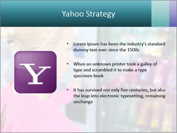 Woman Buys Snacks PowerPoint Template - Slide 11