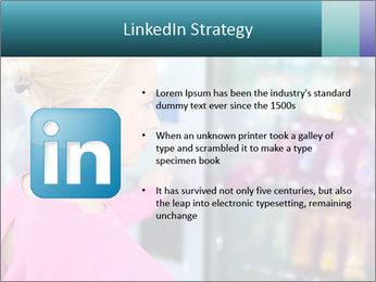 Woman Buys Snacks PowerPoint Template - Slide 12
