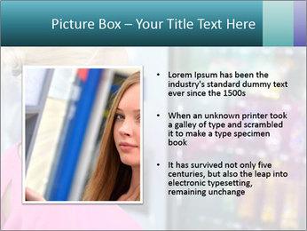 Woman Buys Snacks PowerPoint Template - Slide 13
