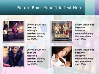 Woman Buys Snacks PowerPoint Template - Slide 14